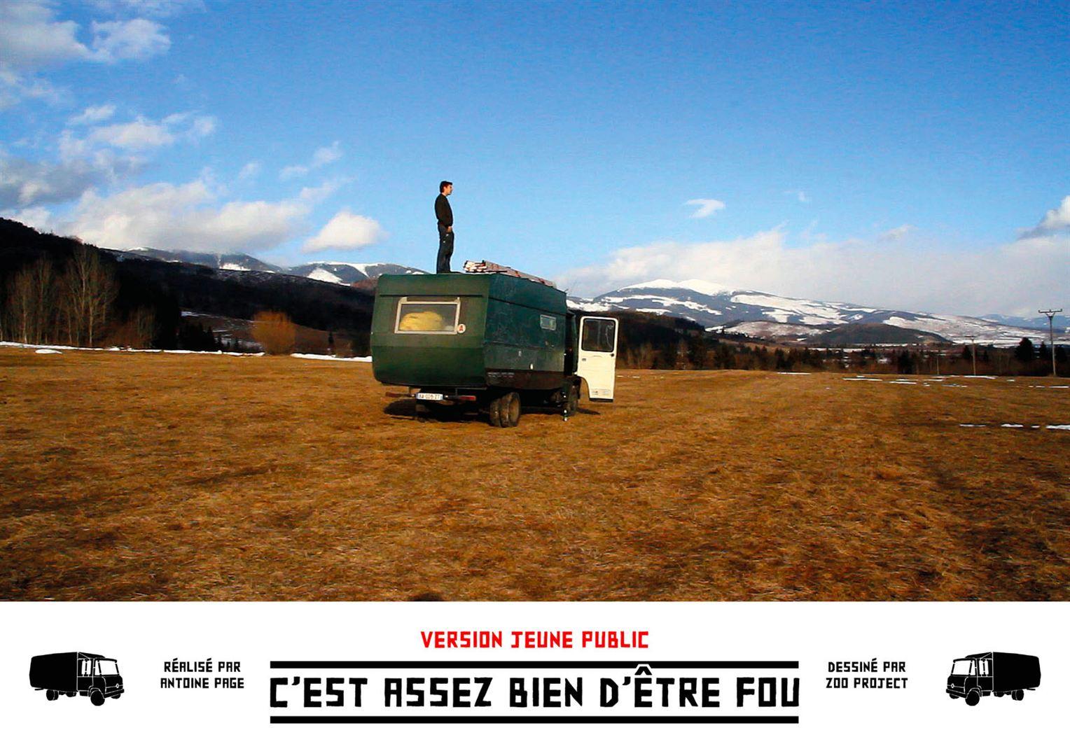 C'EST ASSEZ BIEN D'ÊTRE FOU / Antoine Page