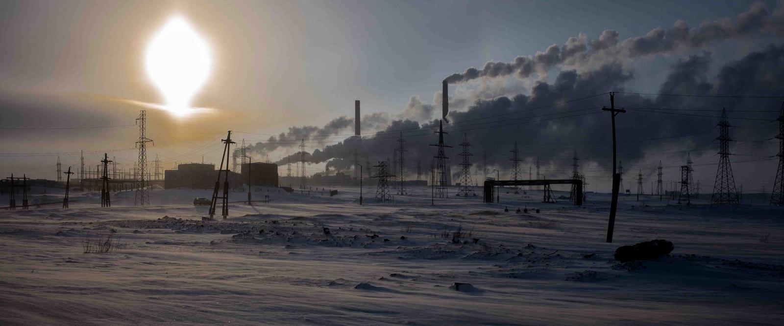 Norilsk, l'étreinte de glace / François-Xavier Destors